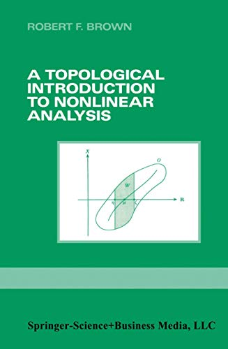 9780817637064: A Topological Introduction to Nonlinear Analysis