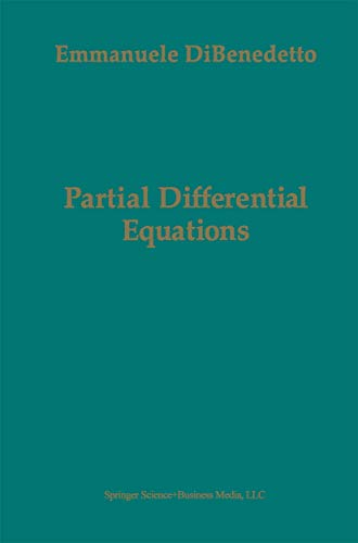 9780817637088: Partial Differential Equations