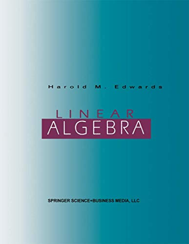 9780817637316: Linear Algebra
