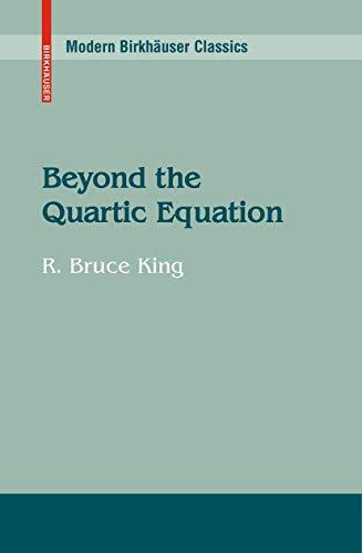 9780817637767: Beyond the Quartic Equation