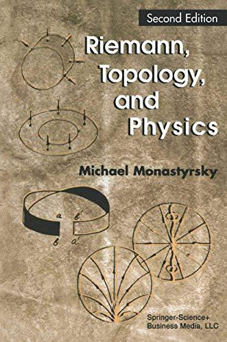 9780817637897: Riemann, Topology, and Physics
