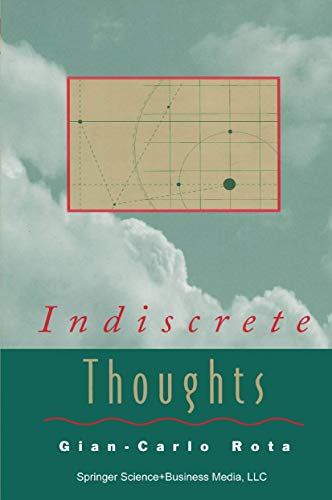 9780817638665: Indiscrete Thoughts