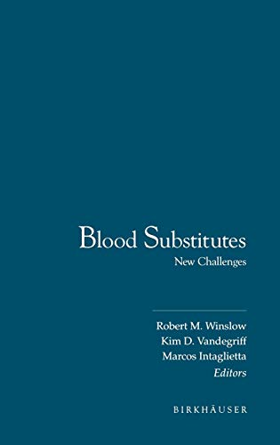 9780817638788: Blood Substitutes: New Challenges