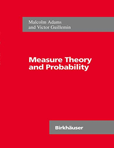 9780817638849: Measure Theory and Probability (The Wadsworth & Brooks/Cole Mathematics Series)