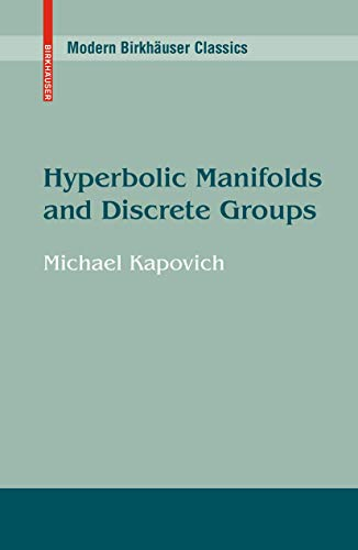 9780817639044: Hyperbolic Manifolds and Discrete Groups