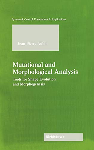 MUTATIONAL AND MORPHOLOGICAL ANALYSIS : TOOLS FOR SHAPE EVOLUTION AND MORPHOGE: AUBIN, JEAN-PIERRE