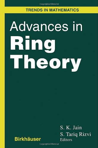 9780817639693: Advances in Ring Theory (Trends in Mathematics)