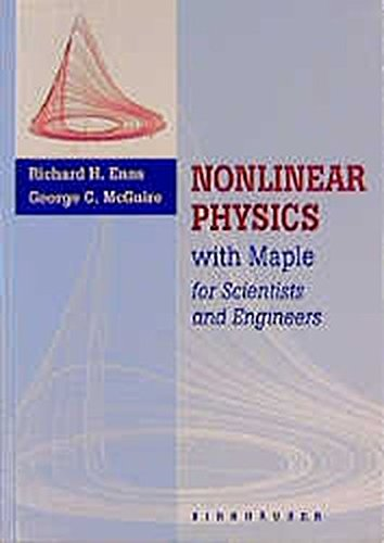 9780817639778: Nonlinear Physics with Maple for Scientists and Engineers / Experimental Activities in Nonlinear Physics: Two Volume Set (Vol 2)