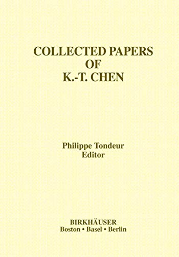 Collected Papers of K.-T. Chen (Contemporary Mathematicians)