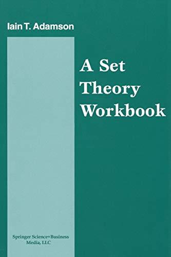 9780817640286: A Set Theory Workbook