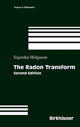 9780817641092: The Radon Transform (Progress in Mathematics) (Vol 5)