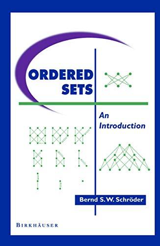 9780817641283: Ordered Sets