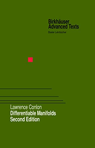 9780817641344: Differentiable Manifolds