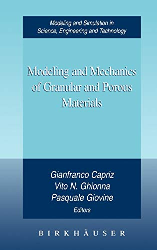 9780817642419: Modeling and Mechanics of Granular and Porous Material