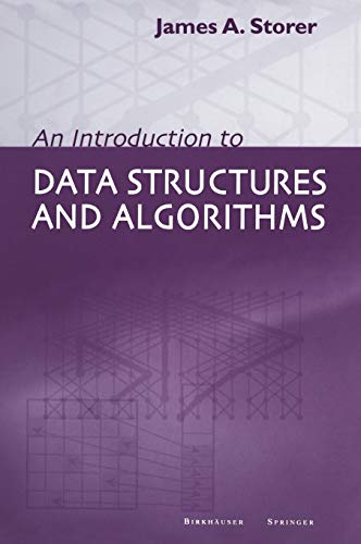 9780817642532: An Introduction to Data Structures and Algorithms (Progress in Theoretical Computer Science)
