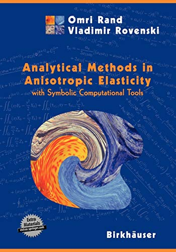 Analytical Methods In Elasticity