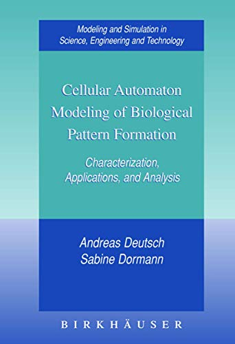9780817642815: Cellular Automaton Modeling of Biological Pattern Formation
