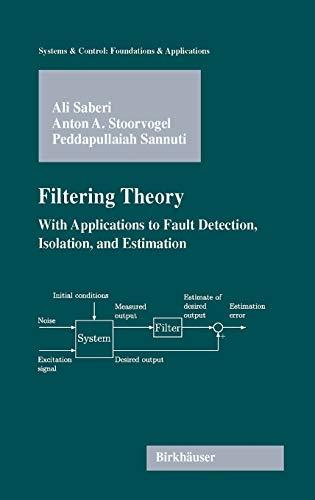 Filtering Theory: Ali Saberi