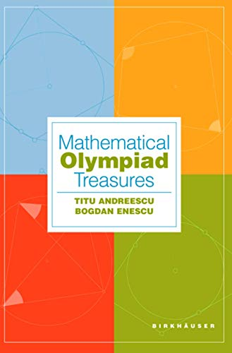 9780817643058: Mathematical Olympiad Treasures
