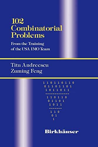 9780817643171: 102 Combinatorial Problems
