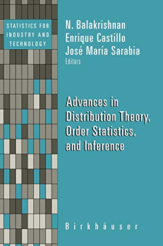 Advances in Distribution Theory, Order Statistics, and Inference (Hardback)