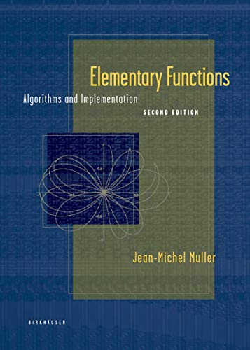 9780817643720: Elementary Functions: Algorithms and Implementation