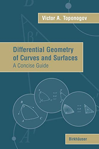 9780817643843: Differential Geometry of Curves and Surfaces: A Concise Guide