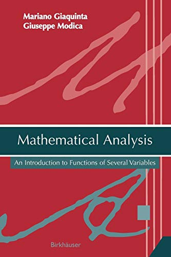 9780817645076: Mathematical Analysis: An Introduction to Functions of Several Variables