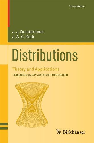9780817646721: Distributions: Theory and Applications (Cornerstones)