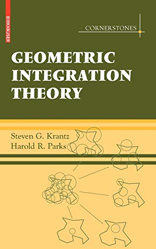9780817646769: Geometric Integration Theory (Cornerstones)