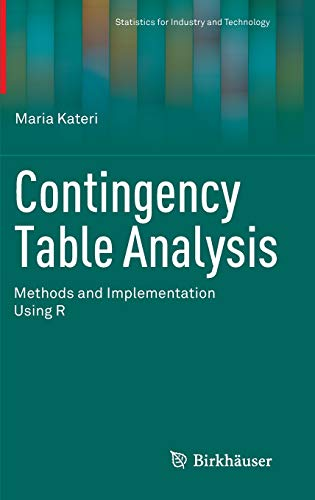 9780817648107: Contingency Table Analysis: Methods and Implementation Using R