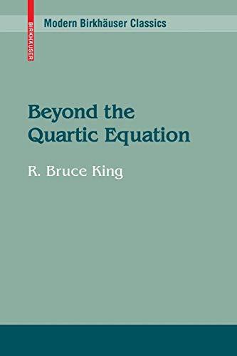 9780817648367: Beyond the Quartic Equation (Modern Birkhäuser Classics)