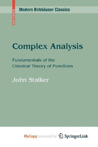9780817649203: Complex Analysis: Fundamentals of the Classical Theory of Functions