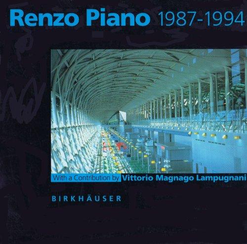 9780817651596: Renzo Piano 1987-1994