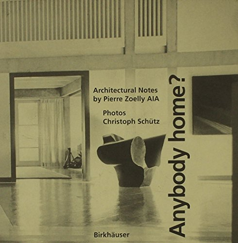 9780817651640: Anybody Home?: Architectural Notes