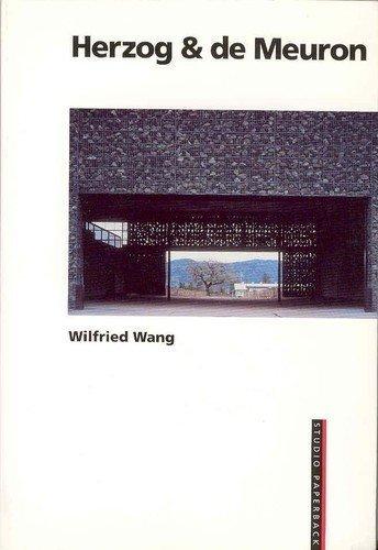 9780817656171: Herzog & de Meuron (Studio Paperback) (German and English Edition)