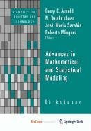 9780817672065: Advances in Mathematical and Statistical Modeling