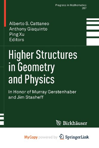 9780817672317: Higher Structures in Geometry and Physics: In Honor of Murray Gerstenhaber and Jim Stasheff