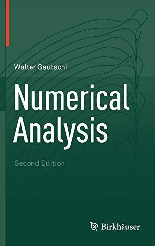 9780817682583: Numerical Analysis
