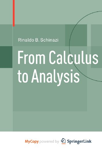 9780817682903: From Calculus to Analysis