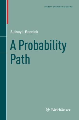 9780817684082: A Probability Path (Modern Birkhäuser Classics)