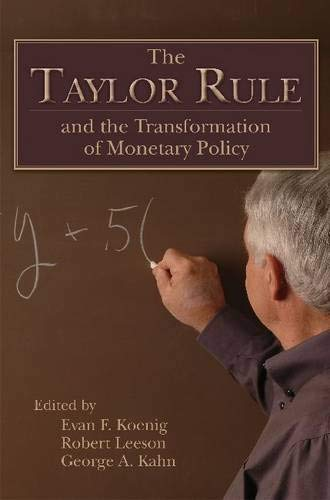 9780817914042: The Taylor Rule and the Transformation of Monetary Policy (Hoover Institute Press Publication)