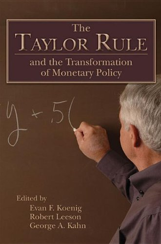 9780817914066: The Taylor Rule and the Transformation of Monetary Policy
