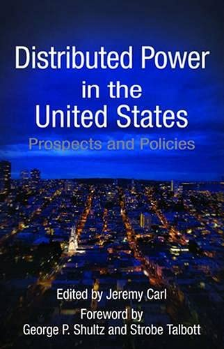9780817915841: Distributed Power in the United States: Prospects and Policies