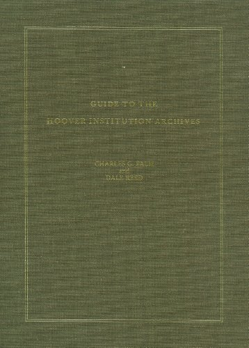 9780817925918: Guide to the Hoover Institution Archives (BIBLIOGRAPHY)