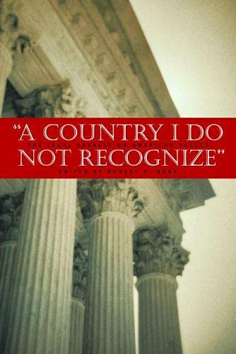 9780817946029: A Country I Do Not Recognize: The Legal Assault On American Values