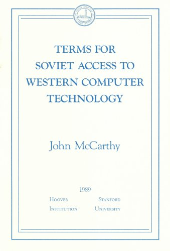 9780817951924: Terms for Soviet Access to Western Computer Technology (Essays in Public Policy ; No. 14)