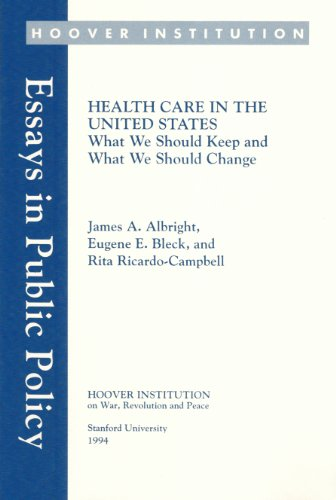 Health Care in the United States: What: Rita Ricardo-Campbell, James