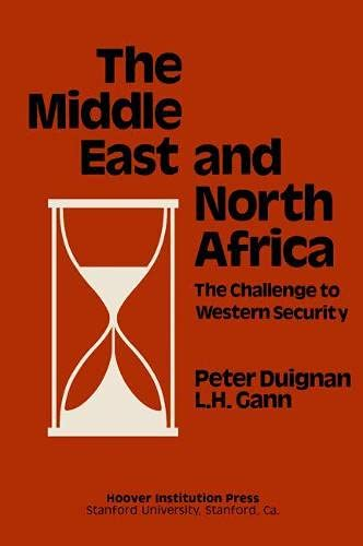 9780817973926: Middle East and North Africa: The Challenge to Western Security (Hoover Institution Press Publication)
