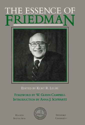 9780817986612: The Essence of Friedman (Hoover Institution Press Publication)